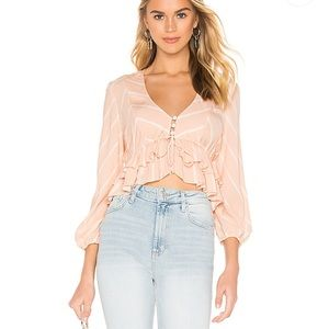 Free People | Samifran Top in Peach